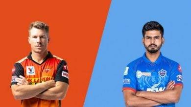DC, delhi capitals, IPL 2020, SRH, Sunrisers Hyderabad