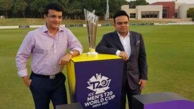 BCCI, ICC, jay shah, Sourav Ganguly, T20 World Cup 2021, UAE